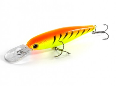воблер /FISH LURE/ Bait Plus 75мм 8гр. загл.1м color-28 51300-10