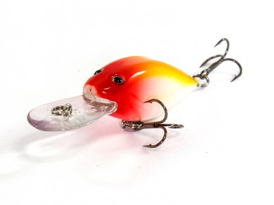 воблер /FISH LURE/ Bait Plus 45мм 5гр. загл.0.8м color-18 51300-80