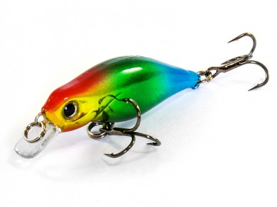 воблер /FISH LURE/ Bait Plus 45мм 1.9гр. загл.0,5м color-45 51300-109