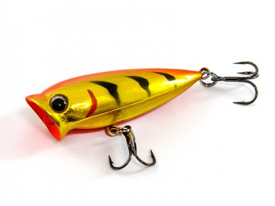 воблер /FISH LURE/ Bait Plus 50мм 3гр. загл.0м color-9 поппер 51300-64