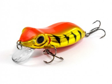 воблер /FISH LURE/ Bait Plus 65мм 8,5гр. загл.0м color-9 лягушка 51300-132