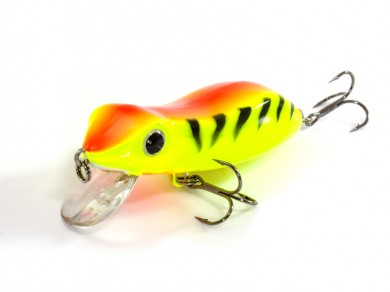 воблер /FISH LURE/ Bait Plus 65мм 8,5гр. загл.0м color-28 лягушка 51300-132