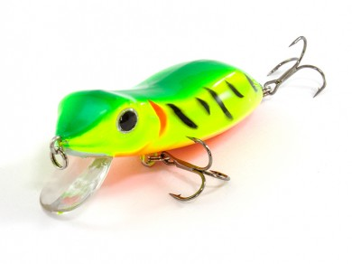 воблер /FISH LURE/ Bait Plus 65мм 8,5гр. загл.0м color-30 лягушка 51300-132