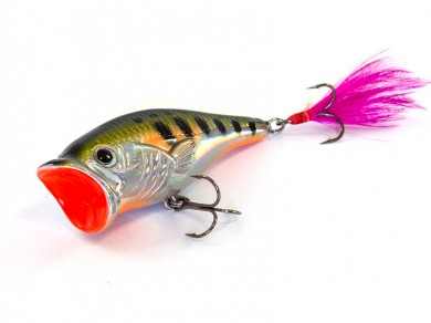 воблер /FISH LURE/ Bait Plus 65мм 9,6гр. загл.0м color-35 поппер 51300-115