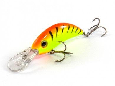 воблер /FISH LURE/ Bait Plus 50мм 4гр. загл.0.8м color-28 51300-46