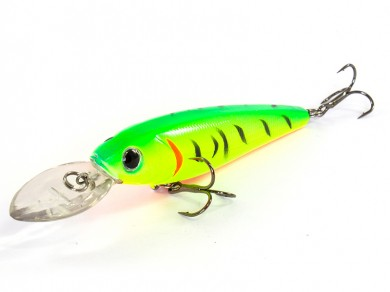 воблер /FISH LURE/ Bait Plus 90мм 12гр. загл.1,5м color-30 51300-49
