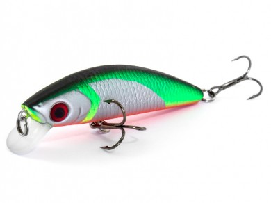 воблер /FISH LURE/ Bait Plus 75мм 10гр. загл.0.8м color-54 51300-94