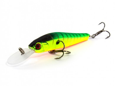 воблер /FISH LURE/ Bait Plus 75мм 2,9гр. загл.0.8м color-37 51300-101