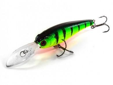 воблер /FISH LURE/ Bait Plus 62мм 6гр. загл.2м color-15 51300-2